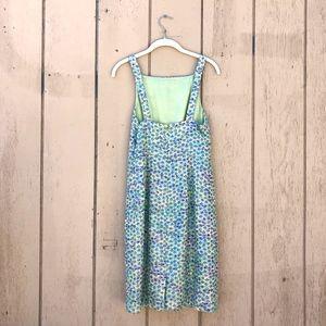 J. Crew Dresses - J Crew Floral 60s Style Metallic Woven Dress